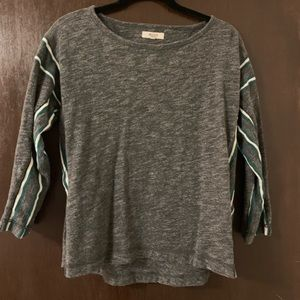 Madewell Cropped Sleeve Top